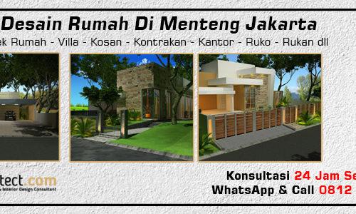 Jasa Desain Rumah Di Menteng Jakarta
