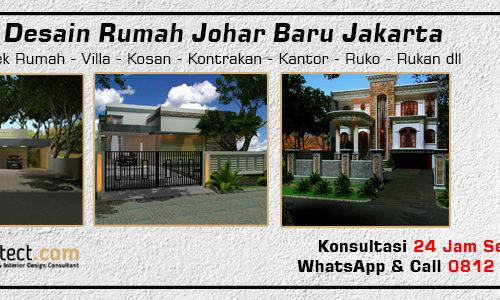 Jasa Desain Rumah Johar Baru Jakarta