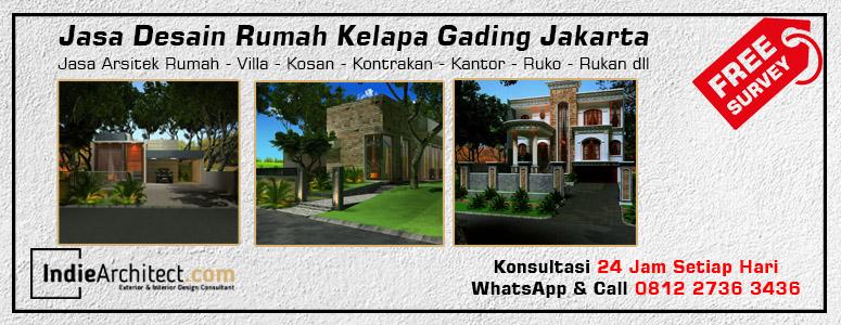 Jasa Desain Rumah Kelapa Gading Jakarta