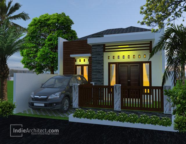 Desain Rumah 1 Lantai 3 Kamar Indie Architect 0812 2736 3436