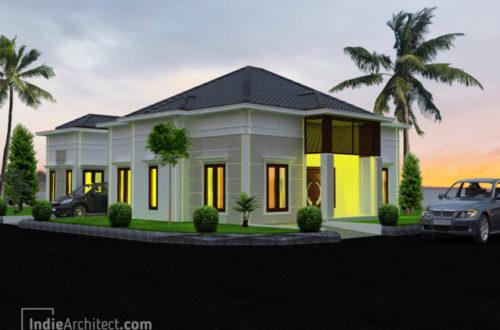 Desain Rumah 1 Lantai Minimalis