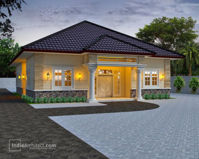 Kumpulan Desain Rumah 1 Lantai Indie Architect