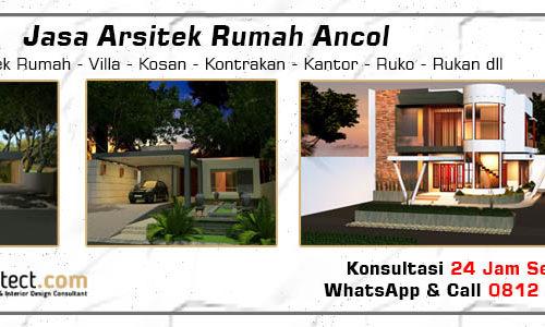 Jasa Arsitek Rumah Ancol - Jakarta Utara