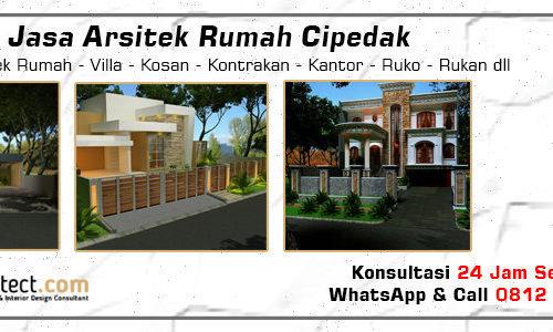 Jasa Arsitek Rumah Cipedak - Jakarta Selatan