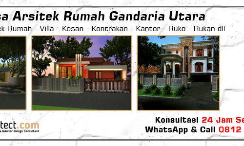 Jasa Arsitek Rumah Gandaria Utara - Jakarta Selatan