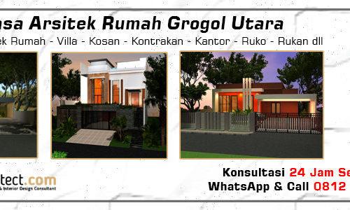 Jasa Arsitek Rumah Grogol Utara - Jakarta Selatan