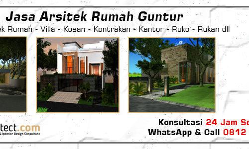 Jasa Arsitek Rumah Guntur - Jakarta Selatan