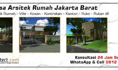 Jasa Arsitek Rumah Jakarta Barat