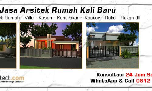 Jasa Arsitek Rumah Kali Baru - Jakarta Utara