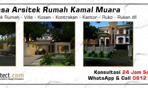 Jasa Arsitek Rumah Kamal Muara - Jakarta Utara