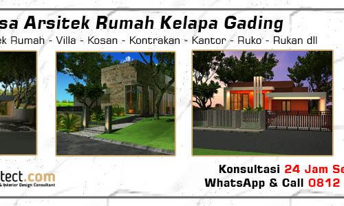 Jasa Arsitek Rumah Kelapa Gading - Jakarta Utara