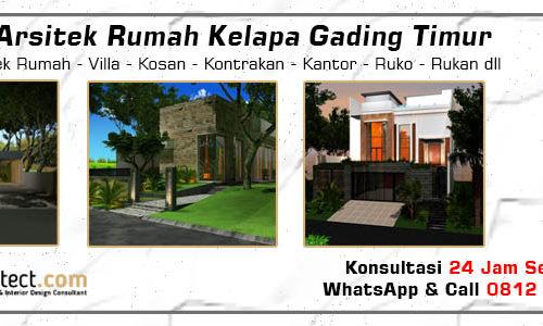 Jasa Arsitek Rumah Kelapa Gading Timur - Jakarta Utara