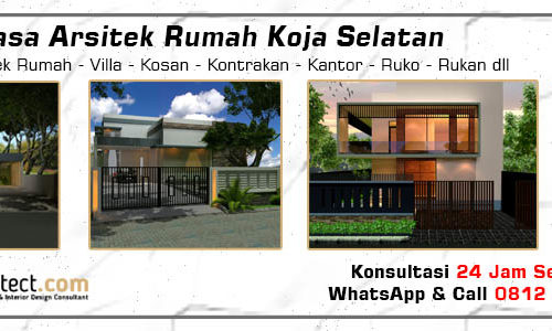 Jasa Arsitek Rumah Koja Selatan - Jakarta Utara