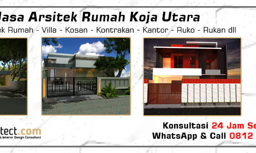 Jasa Arsitek Rumah Koja - Jakarta Utara