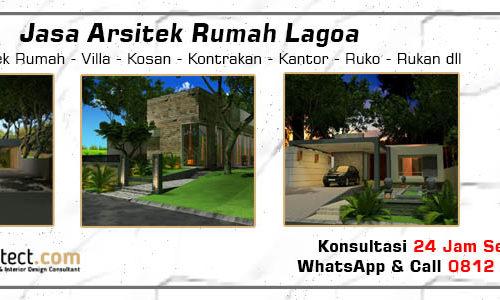 Jasa Arsitek Rumah Lagoa - Jakarta Utara