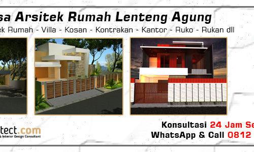 Jasa Arsitek Rumah Lenteng Agung - Jakarta Selatan