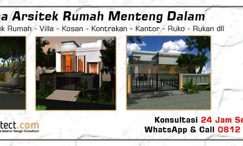 Jasa Arsitek Rumah Menteng Dalam - Jakarta Selatan