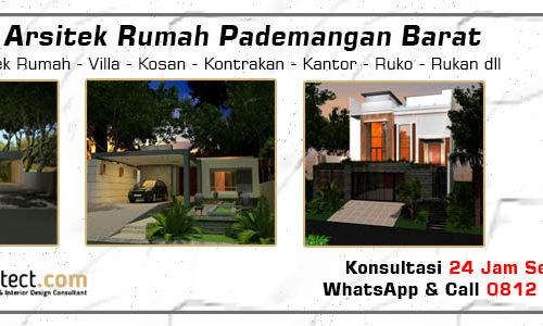 Jasa Arsitek Rumah Pademangan Barat - Jakarta Utara