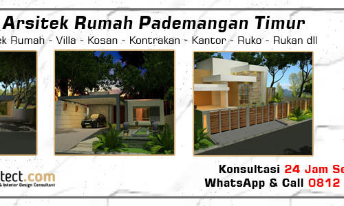 Jasa Arsitek Rumah Pademangan Timur - Jakarta Utara
