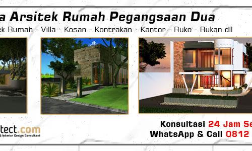 Jasa Arsitek Rumah Pegangsaan Dua - Jakarta Utara