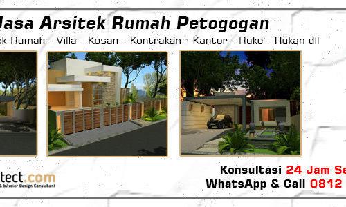 Jasa Arsitek Rumah Petogogan - Jakarta Selatan