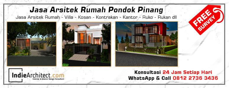 Jasa Arsitek Rumah Pondok Pinang - Jakarta Selatan