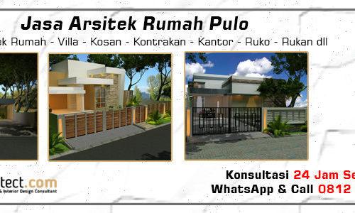 Jasa Arsitek Rumah Pulo - Jakarta Selatan