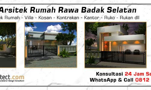 Jasa Arsitek Rumah Rawa Badak Selatan - Jakarta Utara