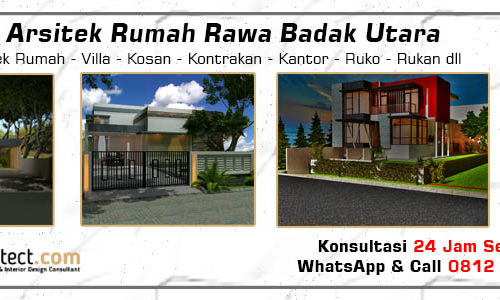 Jasa Arsitek Rumah Rawa Badak Utara - Jakarta Utara