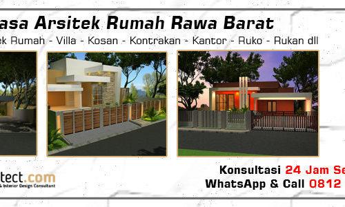 Jasa Arsitek Rumah Rawa Barat - Jakarta Selatan