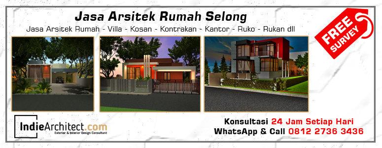 Jasa Arsitek Rumah Selong - Jakarta Selatan