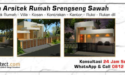Jasa Arsitek Rumah Srengseng Sawah - Jakarta Selatan