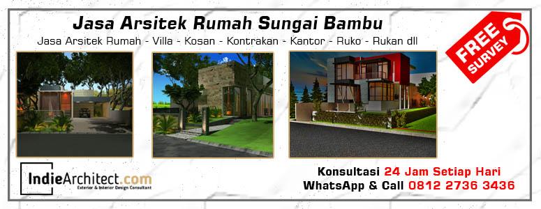 Jasa Arsitek Rumah Sungai Bambu - Jakarta Utara