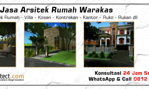 Jasa Arsitek Rumah Warakas - Jakarta Utara