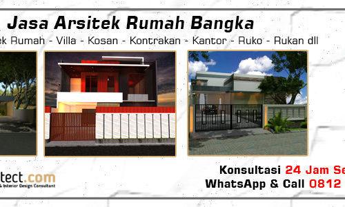 Jasa Arsitek Rumah Bangka - Jakarta Selatan