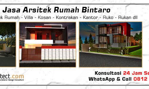 Jasa Arsitek Rumah Bintaro - Jakarta Selatan