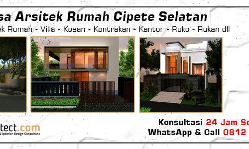 Jasa Arsitek Rumah Cipete Selatan - Jakarta Selatan