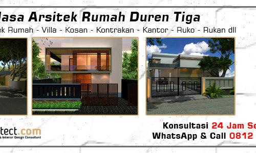 Jasa Arsitek Rumah Duren Tiga - Jakarta Selatan