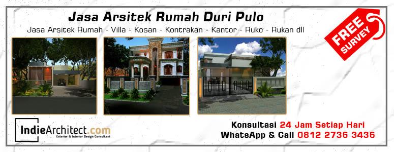 Jasa Arsitek Rumah Duri Pulo - Jakarta Pusat