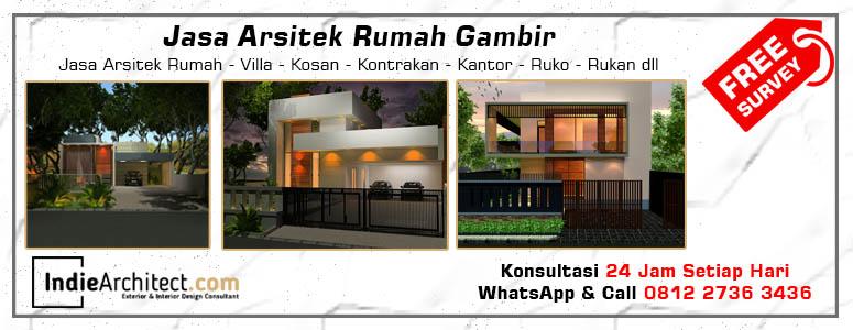 Jasa Arsitek Rumah Gambir - Jakarta Pusat
