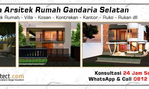 Jasa Arsitek Rumah Gandaria Selatan - Jakarta Selatan