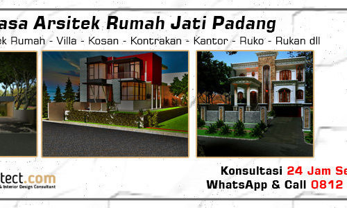 Jasa Arsitek Rumah Jati Padang - Jakarta Selatan