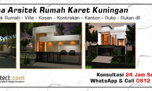 Jasa Arsitek Rumah Karet Kuningan - Jakarta Selatan