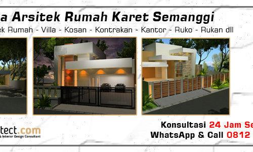 Jasa Arsitek Rumah Karet Semanggi - Jakarta Selatan