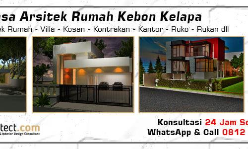 Jasa Arsitek Rumah Kebon Kelapa - Jakarta Pusat
