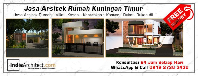 Jasa Arsitek Rumah Kuningan Timur - Jakarta Selatan