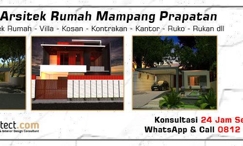 Jasa Arsitek Rumah Mampang Prapatan - Jakarta Selatan