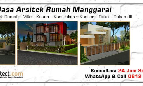 Jasa Arsitek Rumah Manggarai - Jakarta Selatan
