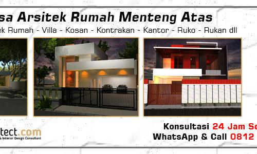 Jasa Arsitek Rumah Menteng Atas - Jakarta Selatan