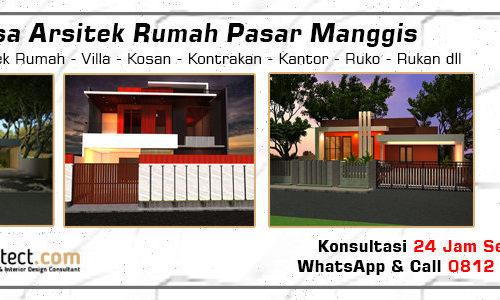 Jasa Arsitek Rumah Pasar Manggis - Jakarta Selatan